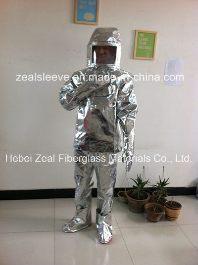 Fireman Outfit Aluminized Fireproof Fire Suit for Fire Fighting