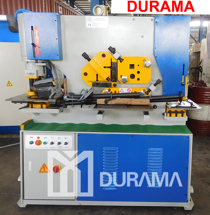 Hydraulic Ironworker with Notching, Punching and Cutting Functions
