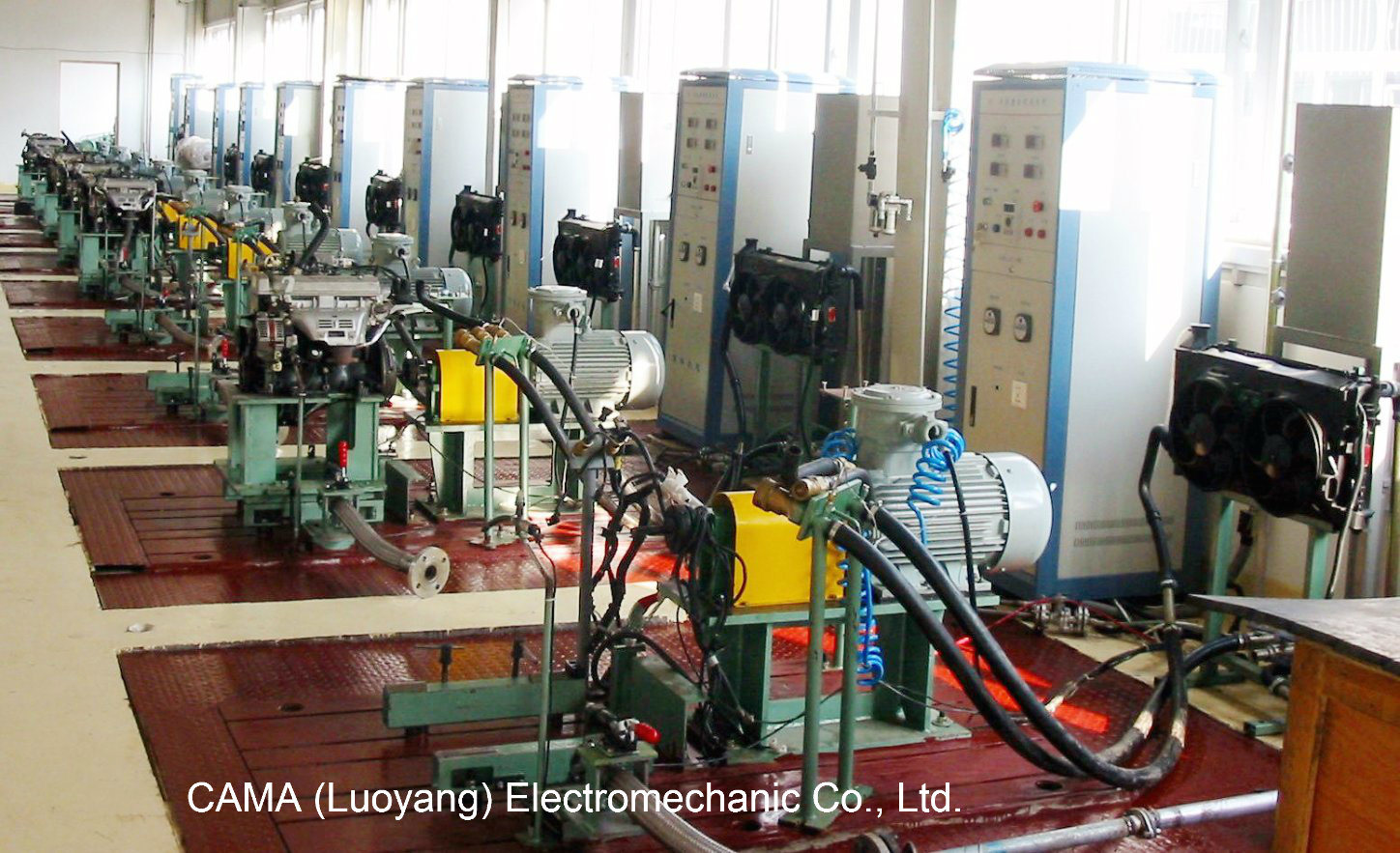 Engine Hot Running-in Test Bench for End of Line Production with Load or Without Load
