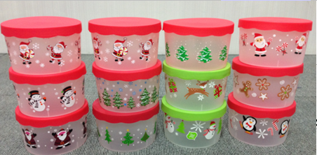 Promotional Food Container Christmas Gifts