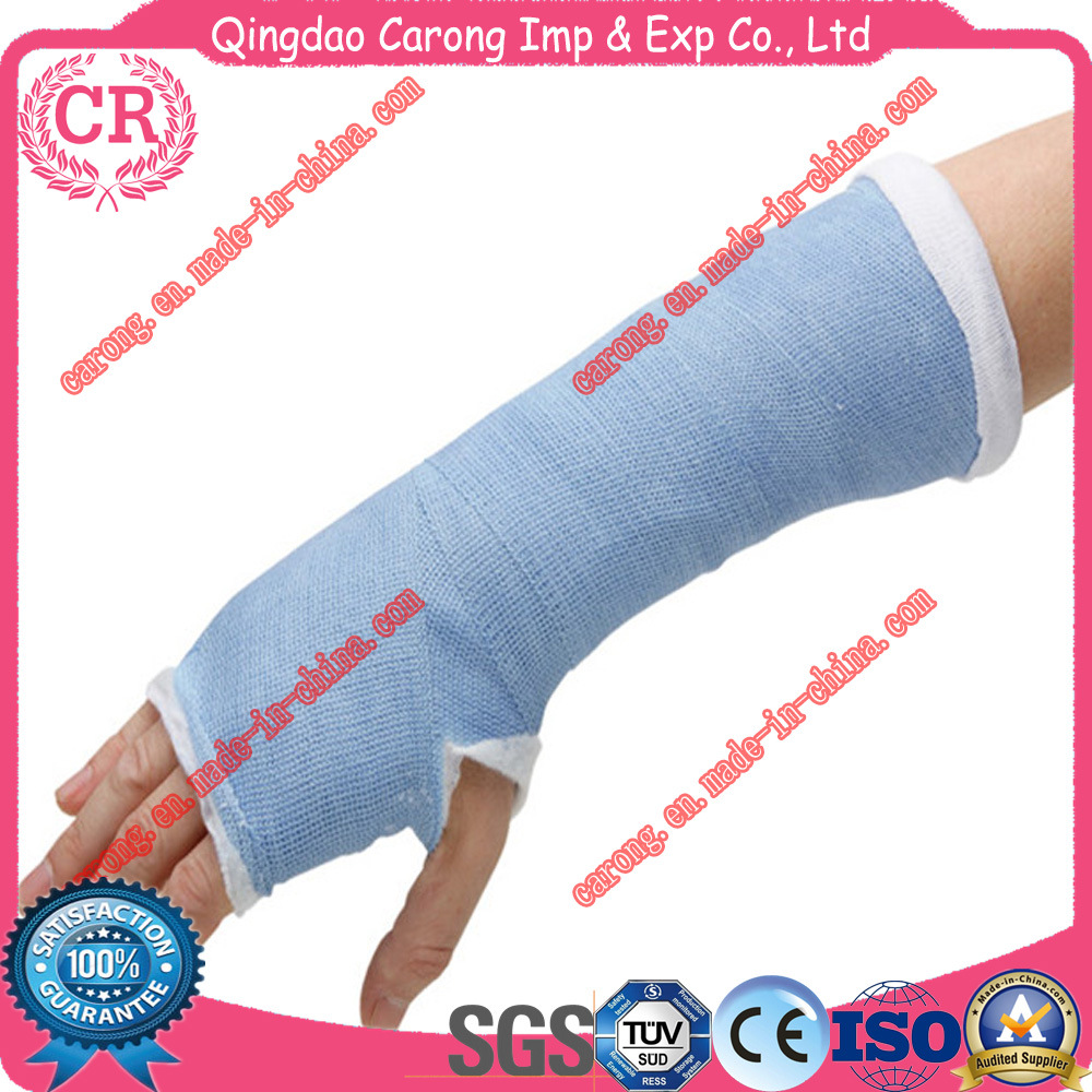 Orthopedic Finger Fiberglass Casting Splint for Hospital Polymer Bandage