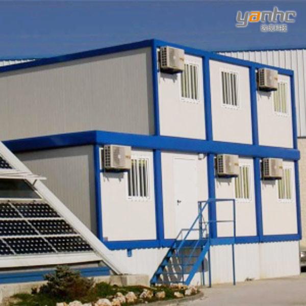 Los 20ft modulares prefab steel container house c h 012 - Casa modular prefabricada ...