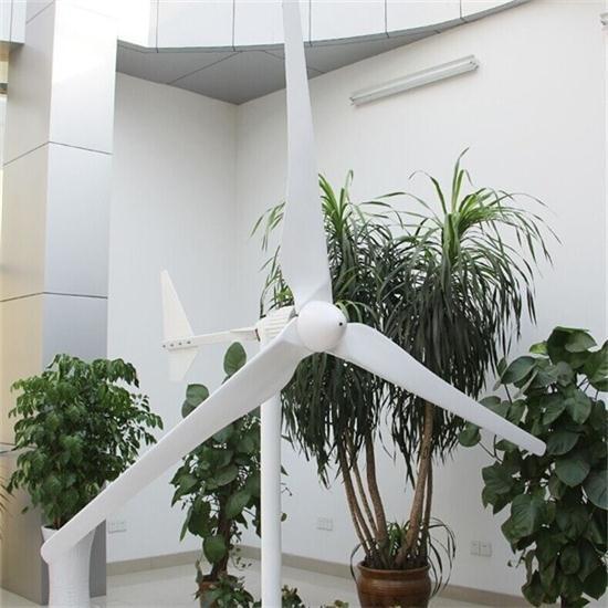 Low Start up Wind Speed 48V/96V/120V 3kw Horizontal Wind Generator Turbine