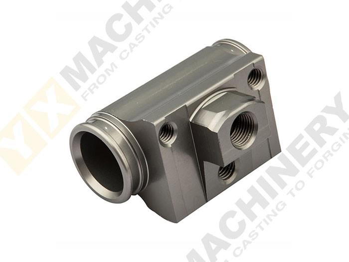 Machinery Hydraulic Engine Aluminum Communications CNC Machining Spare Parts