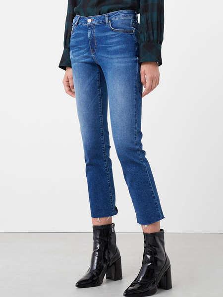 High Waist Pencil Denim Women Jeans