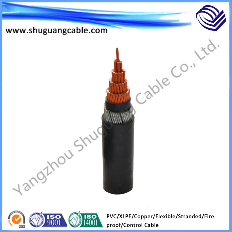 Fireproof/Flexible/XLPE Insulated/PVC Sheathed/Control Cable