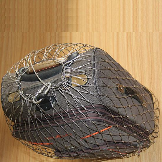 Stainless Steel Mesh Bag Metal Backpack