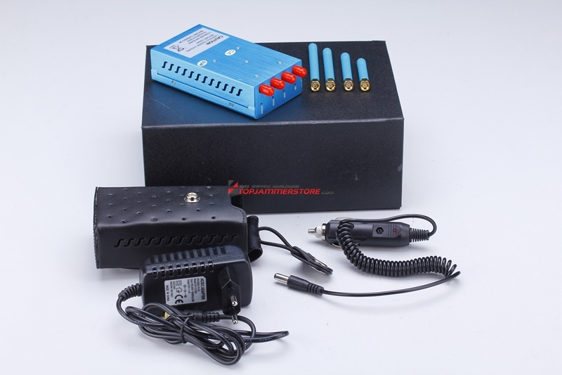 Single-Band Control Signal Jammer, for GPS L1 L2 L3 L4 L5