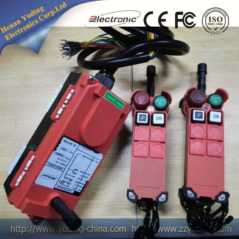 GSM Industrial Three Phase Power Switch F21-2s Remote Controller for Motor, Water Pump, Generator