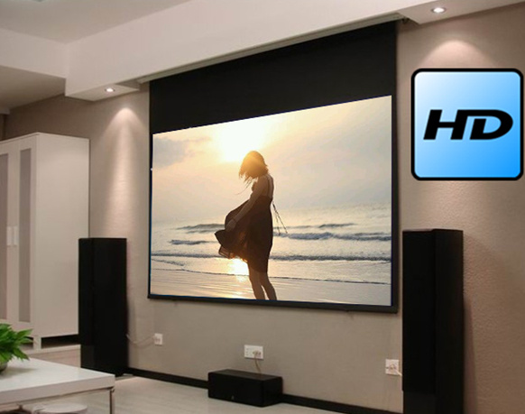 Home Theatre Projection Screen Home Cinema Projector Screen