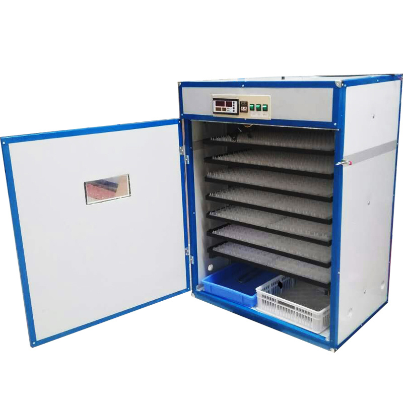 Ce Approved Automatic 1500 Capacity Chicken Egg Incubator Breeding