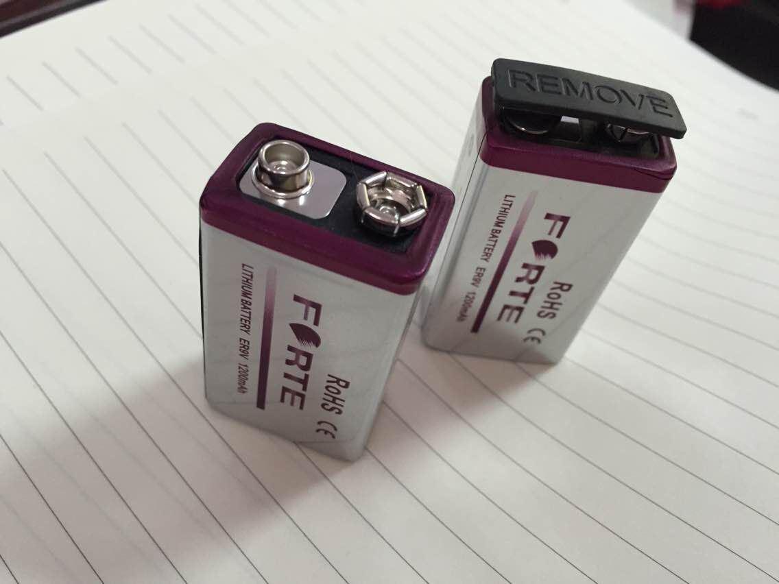 Er9V Battery for Smoke Alarm