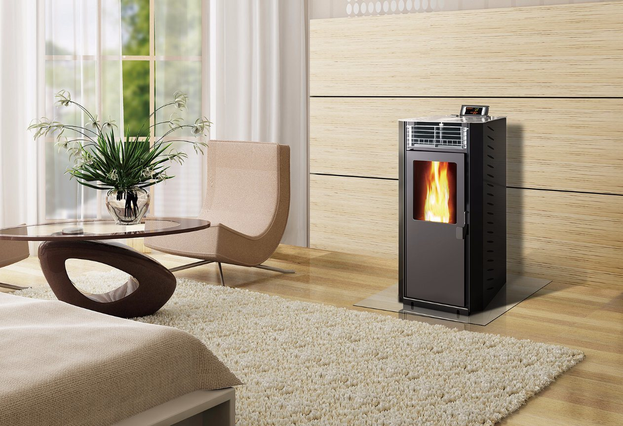 Home Usage Wood Pellet Stove (CR-01)