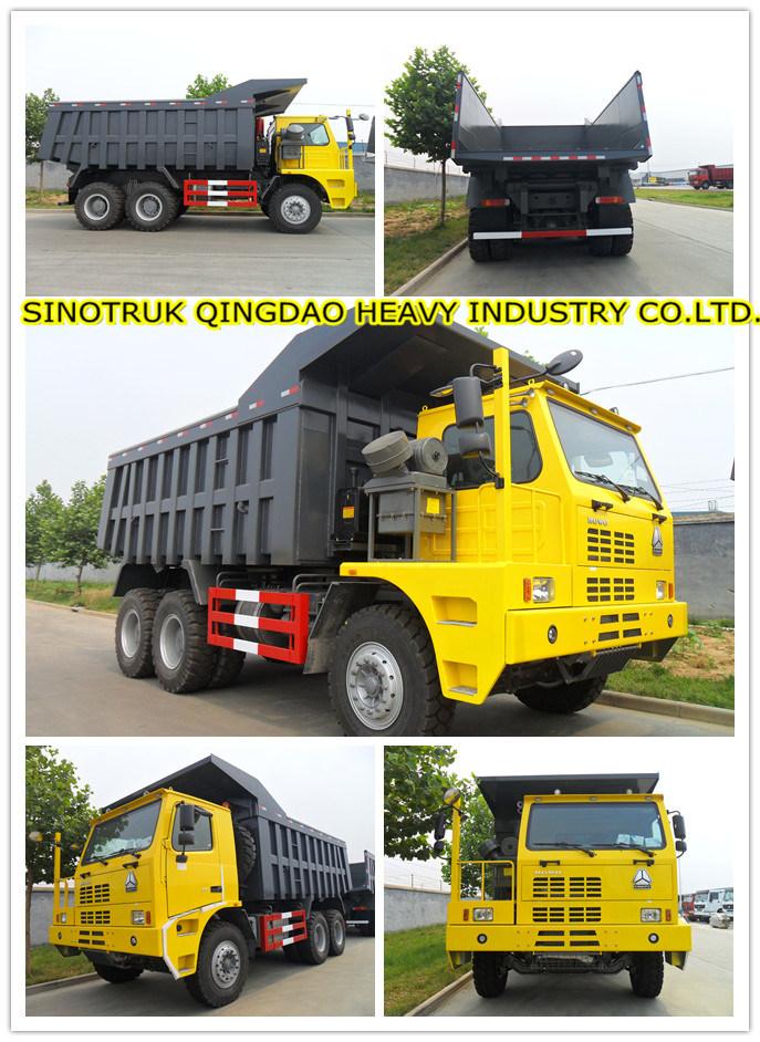 HOWO 70t Mining Dump Truck (ZZ5707S3640AJ)