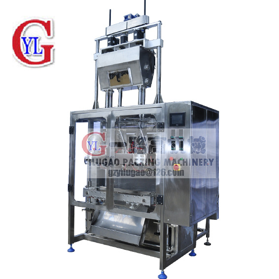 Multi Lines 3 Side Sealing Sachet Granules Packing Machine