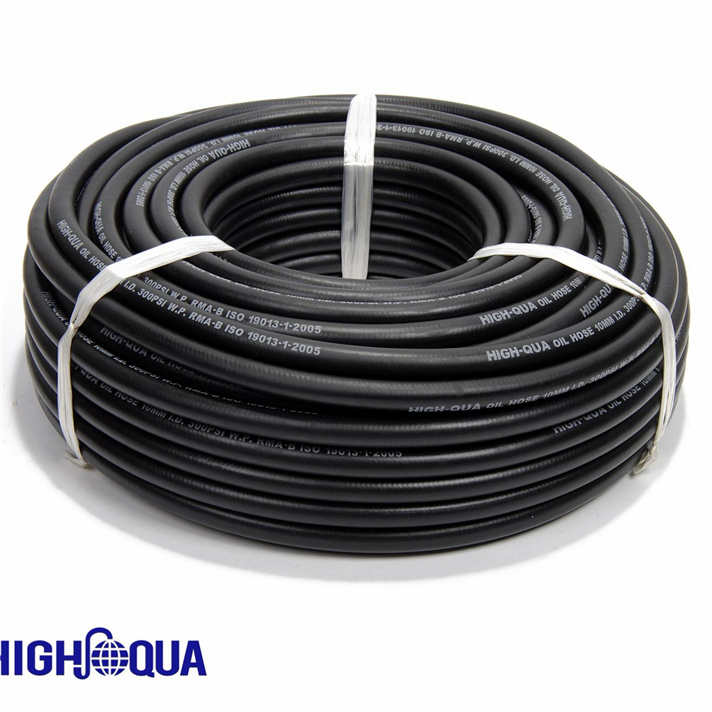Smooth Surface Oil Resistant NBR Rubber Fuel Oil Hose