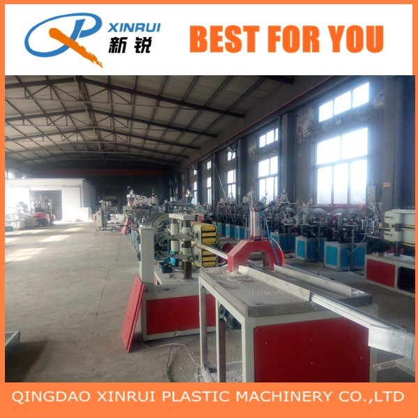 PVC WPC Wood Plastic Faux Marble Profile Sheet Extruder Making Machine