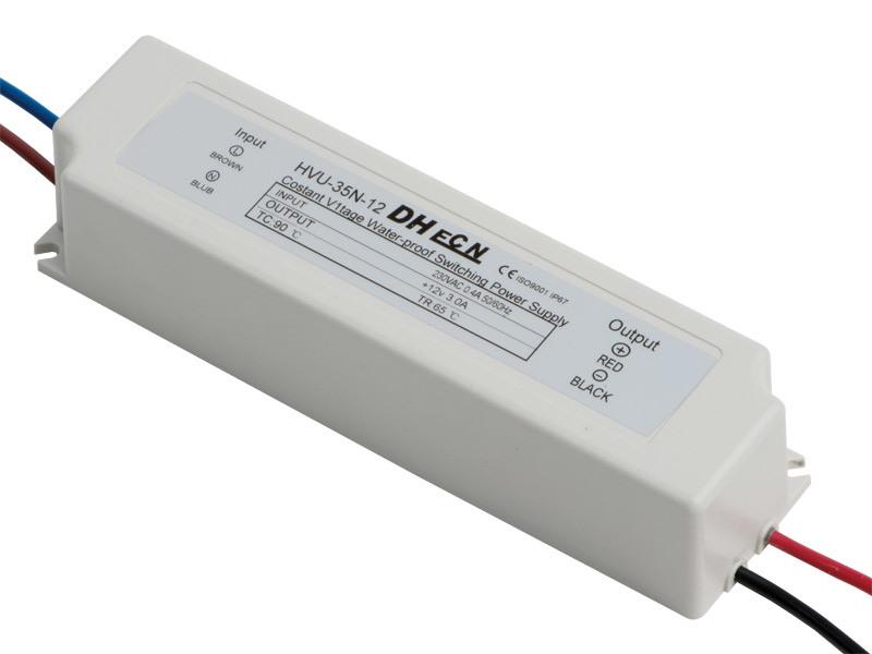 Single Output Waterproof Power Supply (HVU-35N)