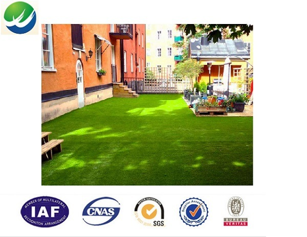 Professional Manufacturer of 4-Tone Artificial Synthetic Grass Turf Lawn for Garden/Yard for Leisure Landscape with 20mm-40mm Pile Hight China