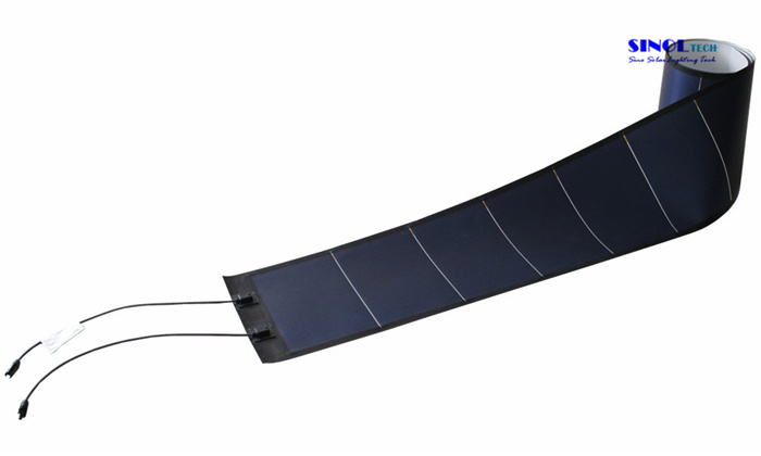 144W Photovoltaic Thin Film Flexible Amorphous Solar PV Module (PVL-144)
