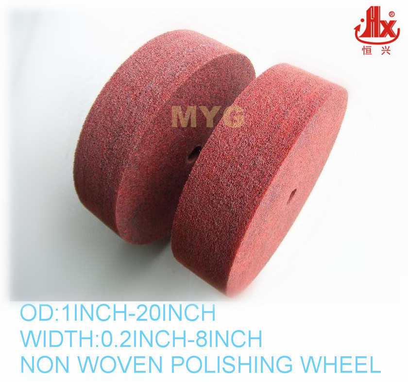 8X2 Inch Metal Finishing Polishing Wheel