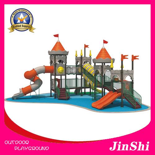 Caesar Castle Series 2018 Latest Outdoor/Indoor Playground Equipment, Plastic Slide, Amusement Park GS TUV (KC-002)