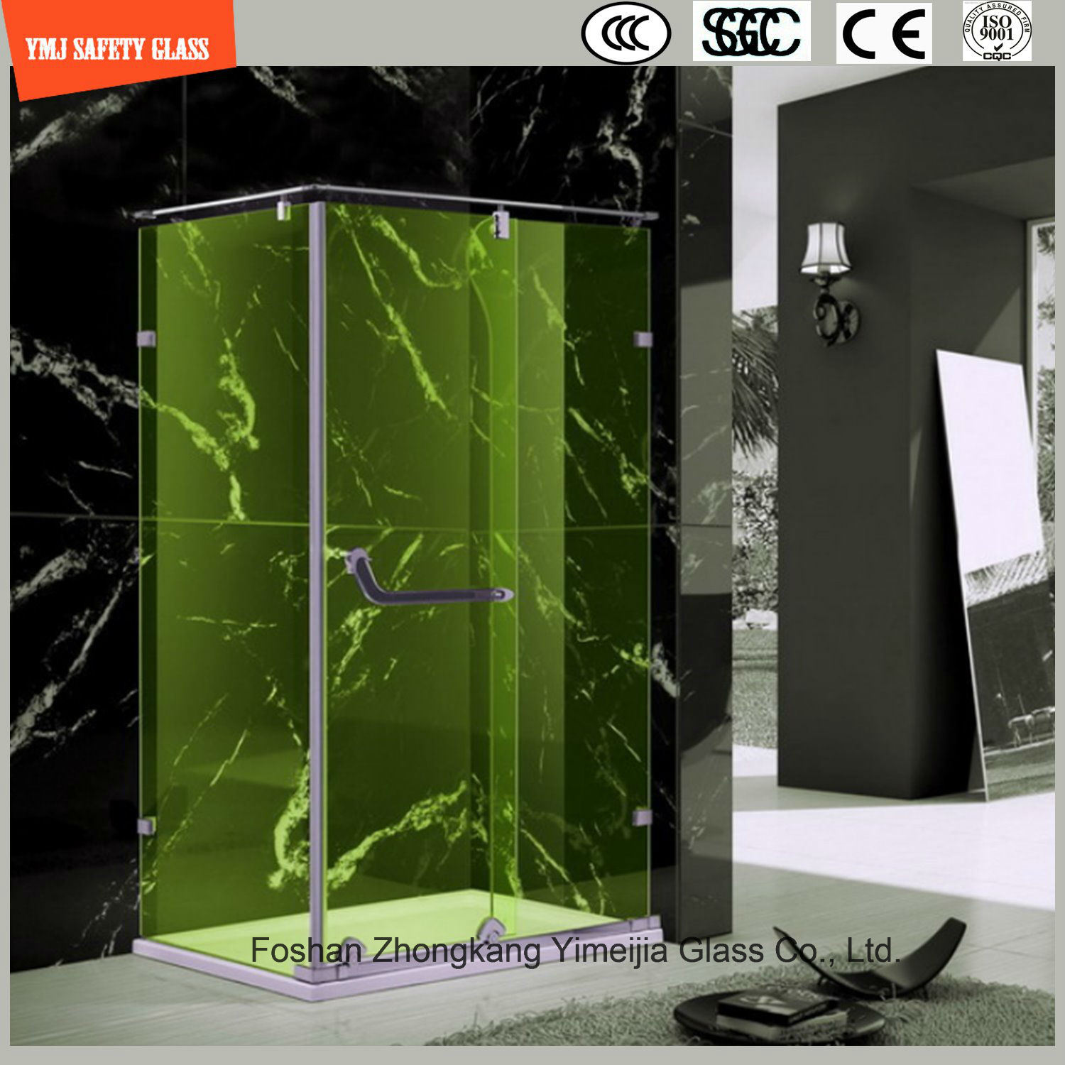 4-19mm Laminated Glass Shower Cabin