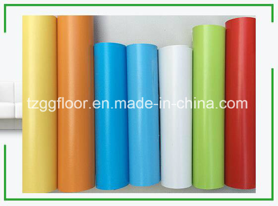 Durable Colorful Waterproof Laminate PVC Flooring Ce ISO9001 Certifacate
