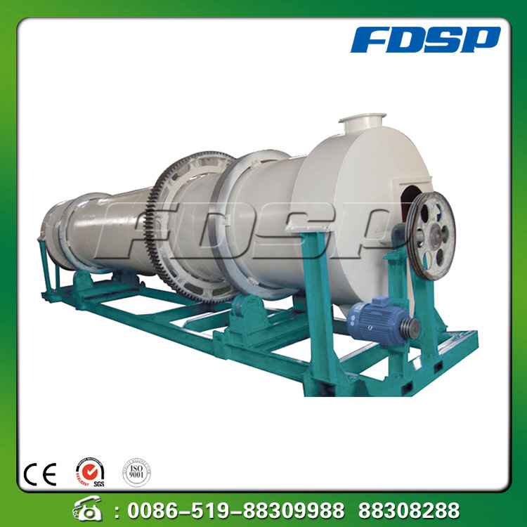 High Performance Wood Drum Rotary Dryer with Ce