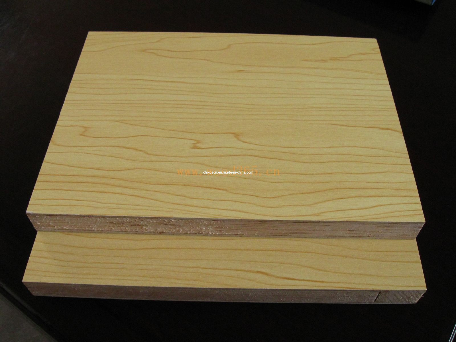 China melamine faced blockboard poplar