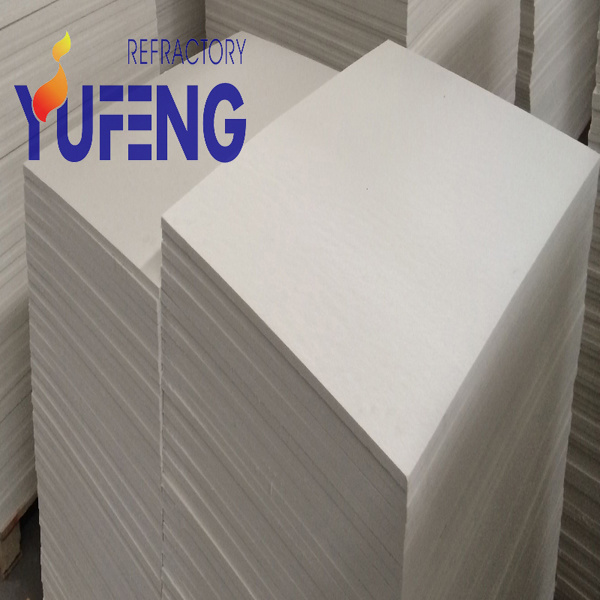 Ceramic Fiber Board / Refractory Thermal Insulating Fiber Board for High Temperature Industry Insulation