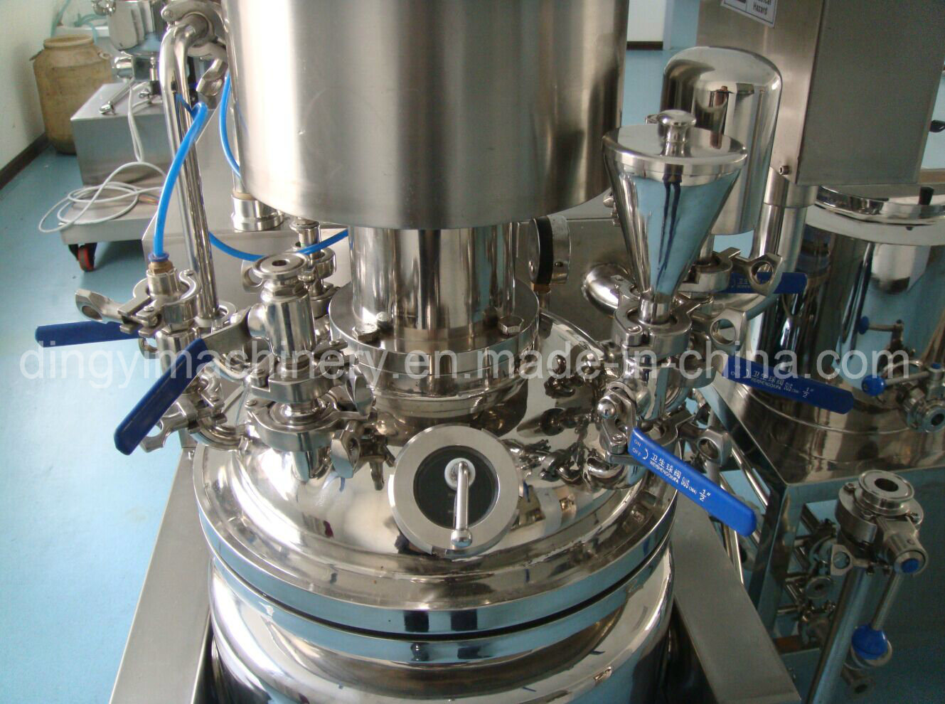 Cream Ointment Soft Gel Vacuum Emulsifying Mixer (ZRJ-20-D)