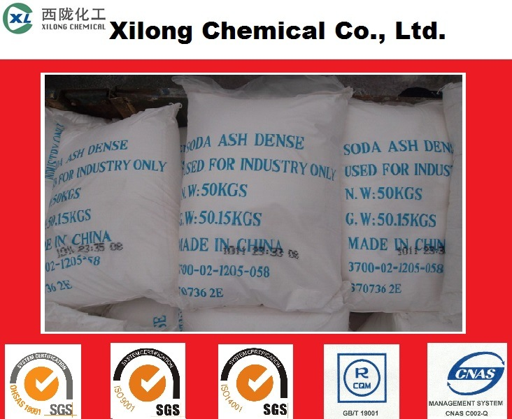 Manufacturer Supply Na2co3 Soda Ash Dense/Sodium Carbonate with Low Price
