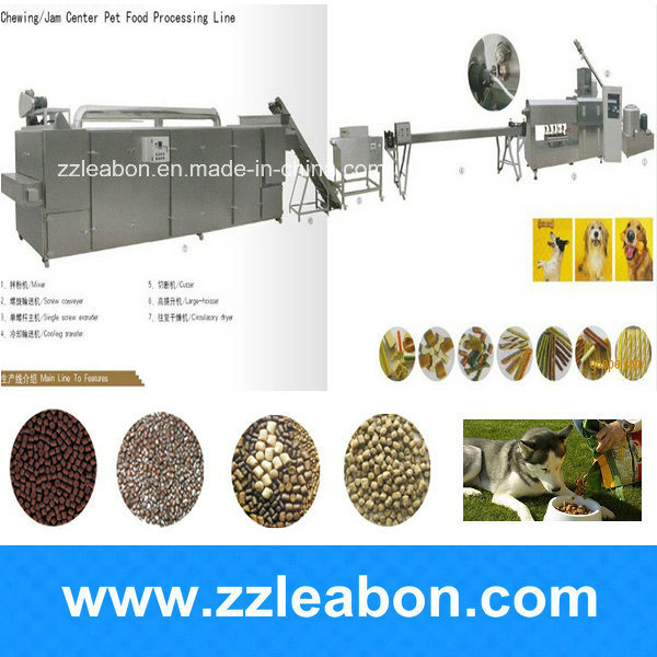 France Popular Fish Cat Dog Food Making Machine