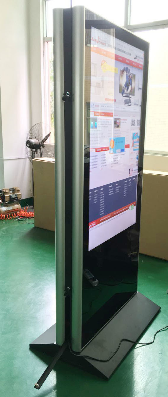 55-Inch Double Screens LED Digital Signage Display Advertising Display