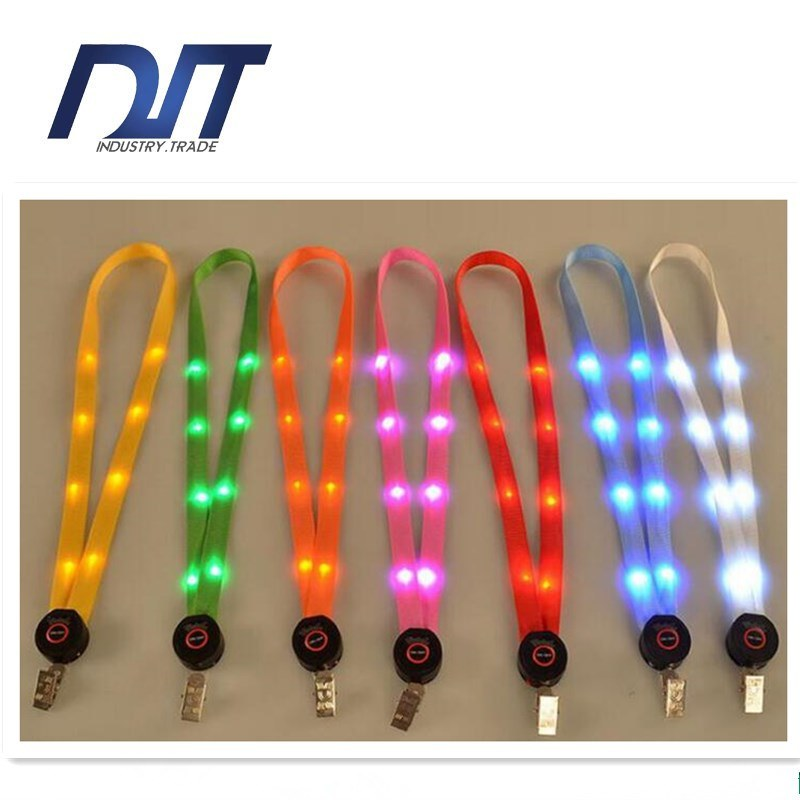 High Quality Fashion Luminous Lanyard