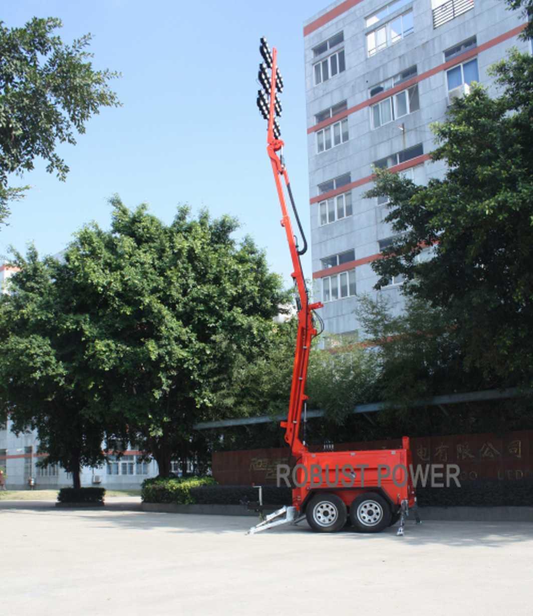 LED Hydraulic Lighting Tower