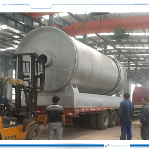 Pyrolysis Rubber to Oil Refining Equipment