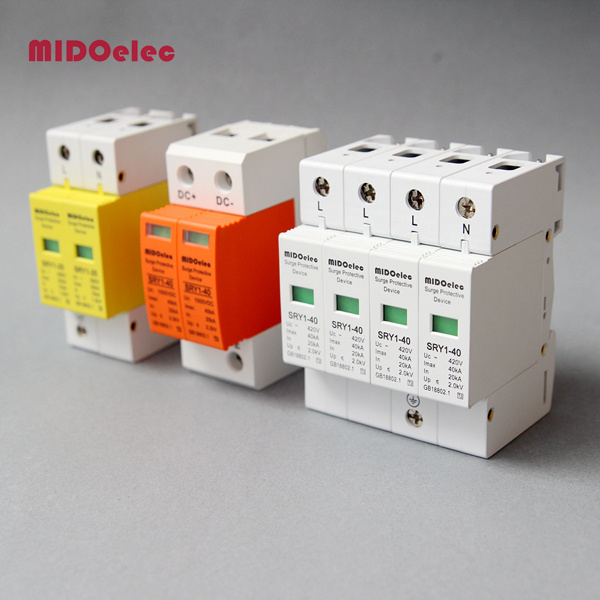SPD, Indoor Power Supply Surge Protection Device, 5ka-40ka