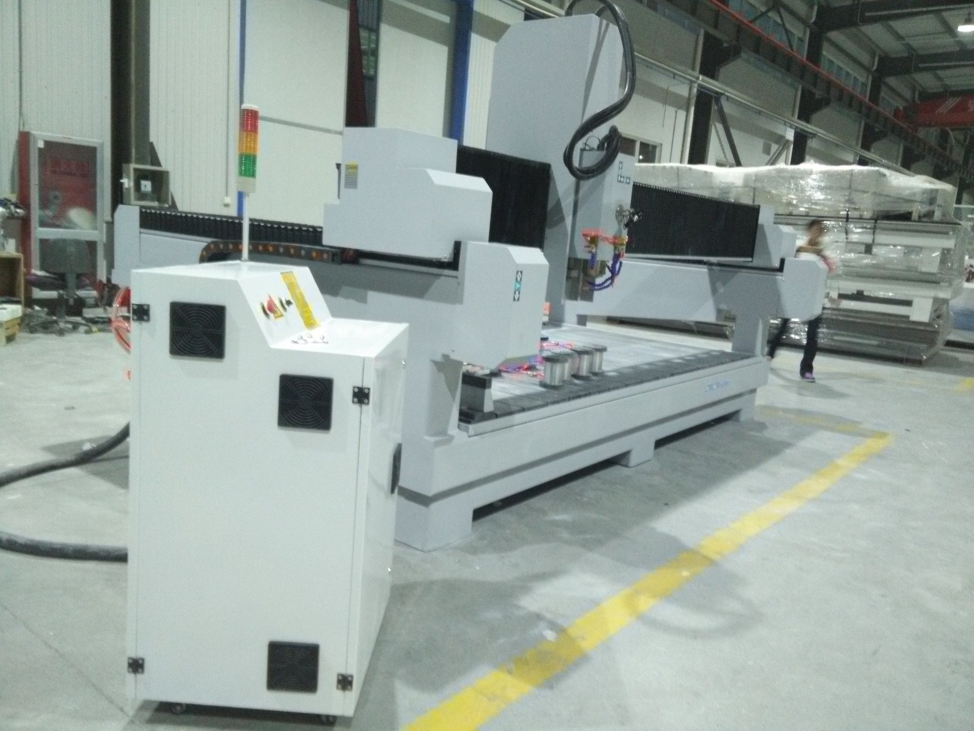High Speed 100mm Thickness Gem Stone Cutting Machine