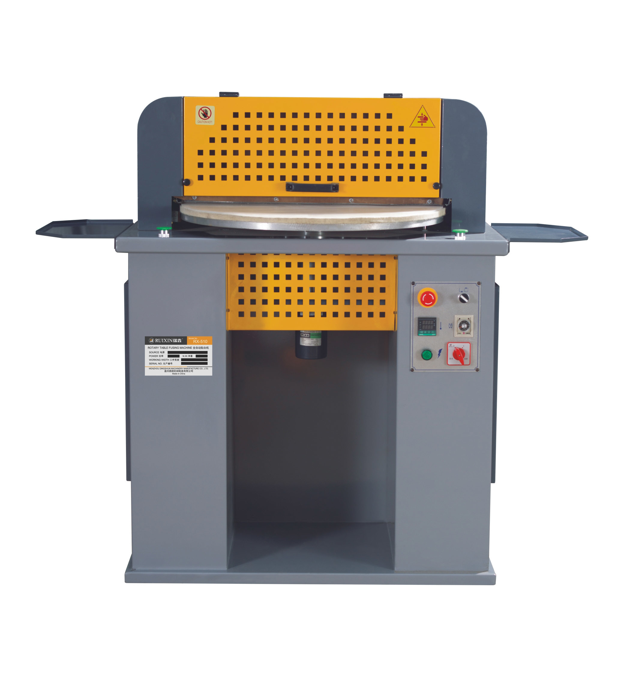 Rotary Table Fusing Machine for Shoe