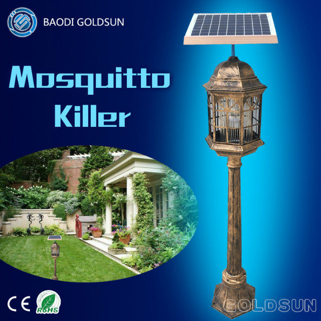 Outdoor Solar Powered Mosquito Repeller high Efficiency