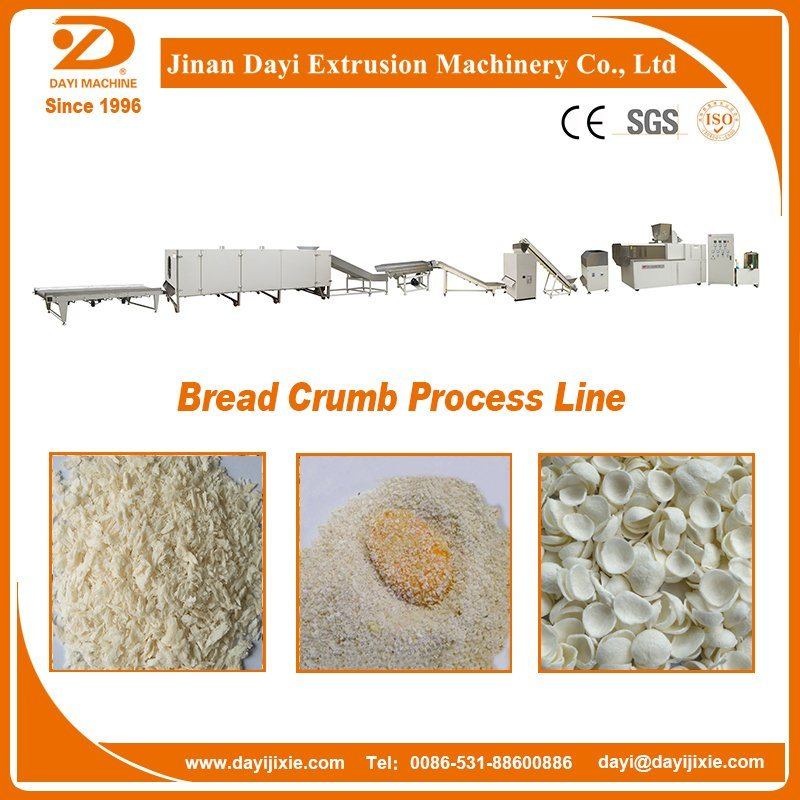 Bread Crumbs Making Machine Extruder