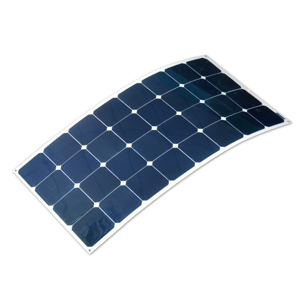 OEM Full Certified 100W 150W 200W Semi Flexible Solar Panel