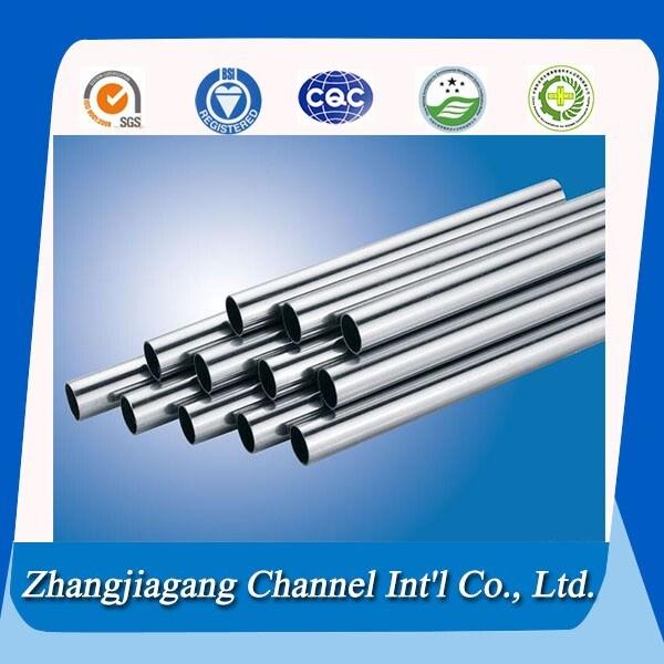 Grade 304 316 Stainless Steel Heat Exchanger Tube