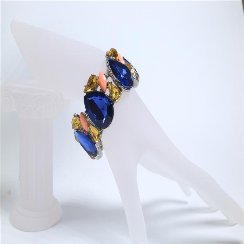 New Item Resin Glass Acrylic Fashion Jewellery Set Earrings Bracelets Necklaces Fashion Jewelry