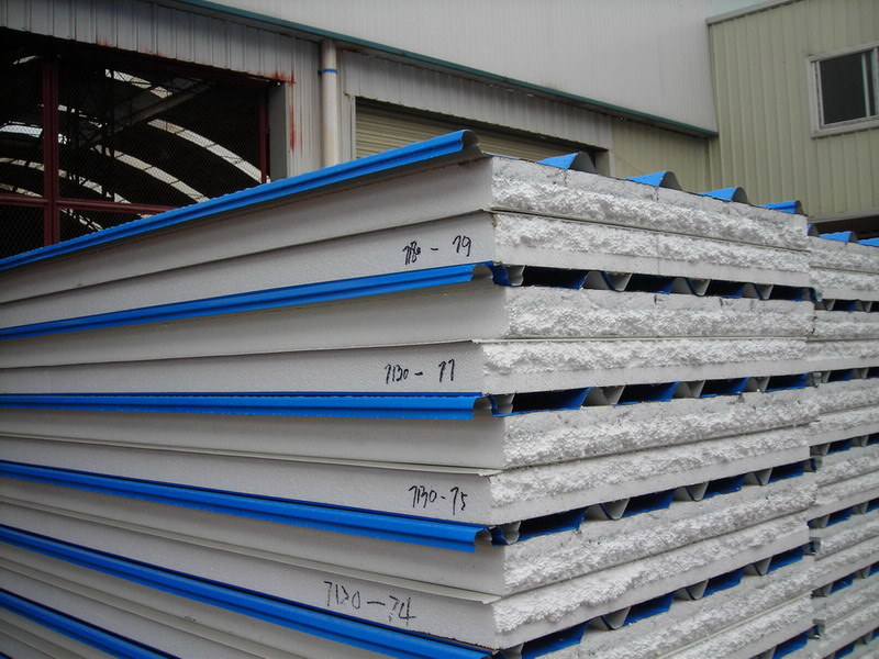 EPS Steel Sandwich Panel for Mobile House