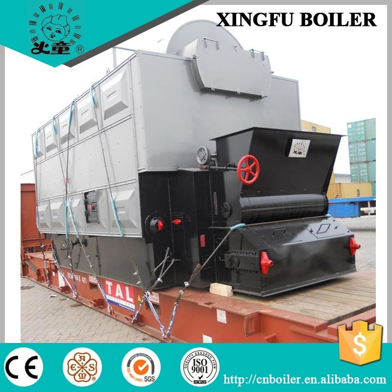 Dzl Series Chain Grate Coal Steam Boiler