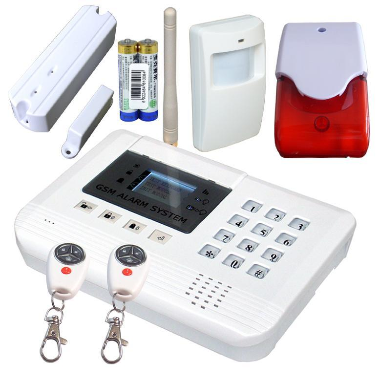 Wireless alarm system wireless alarm systems for the home for Self security system