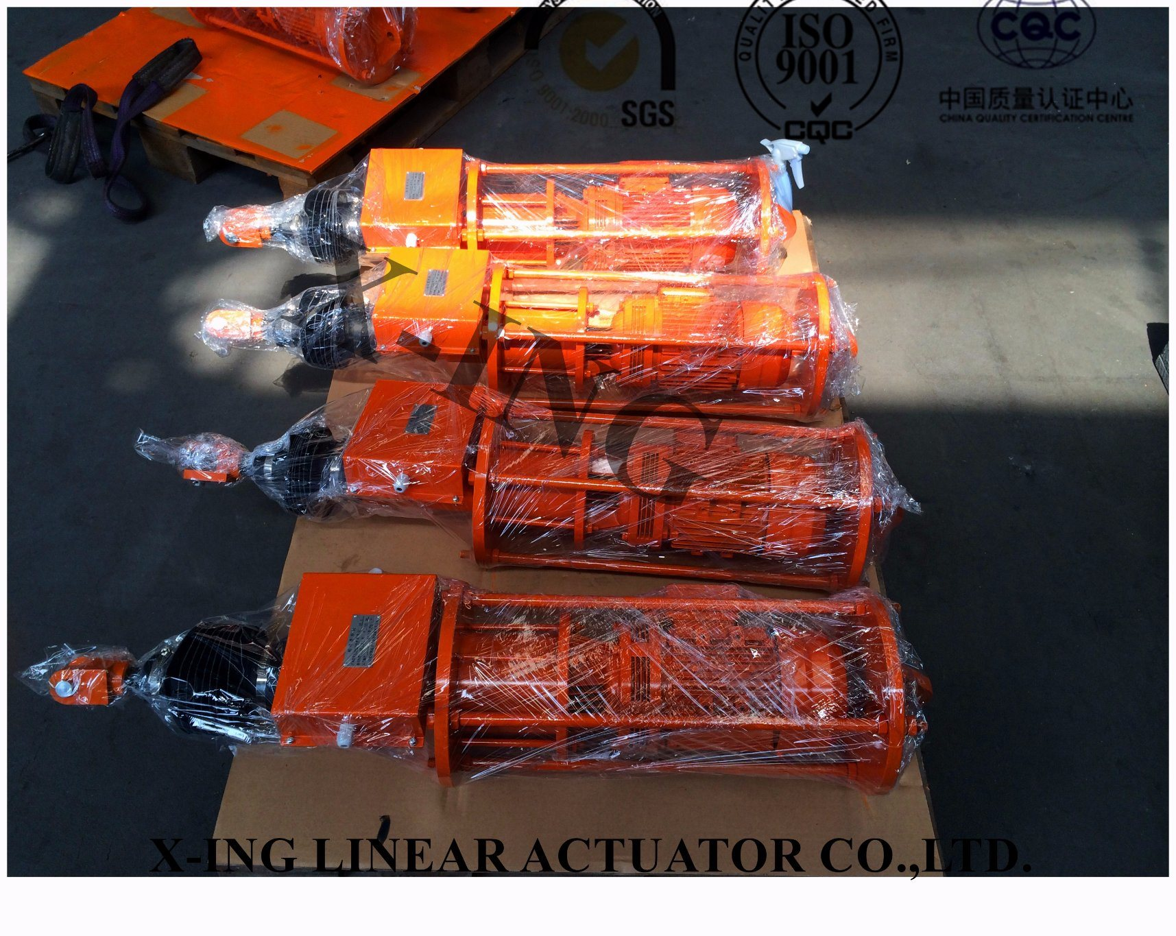 Electric Standard Weight Elevator / Motor Drive Weight Actuator